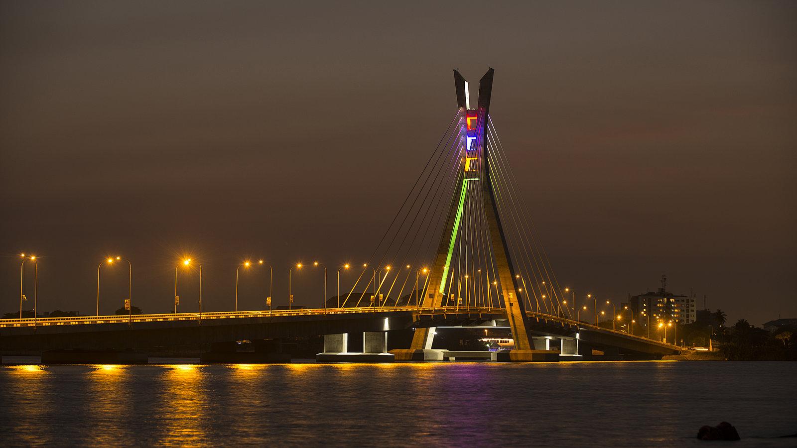 Lekki-Ikoyi Bridge in Lagos
